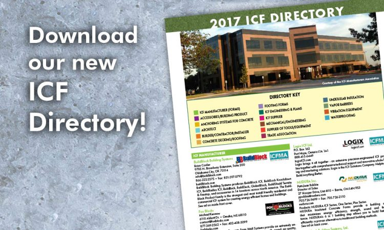 Download our new ICF DIrectory!