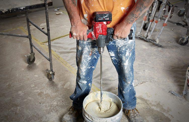 Milwaukee Tool M18 FUEL Mud Mixer with 270° Handle