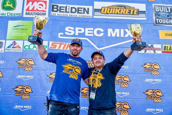 SpecMix Bricklayer 500 World Championships 2018