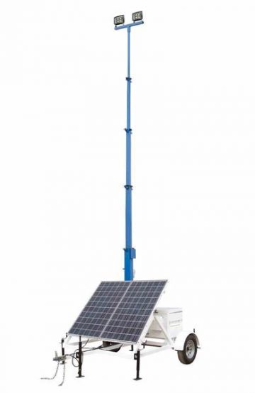 Larson Solar-Powered LightTower