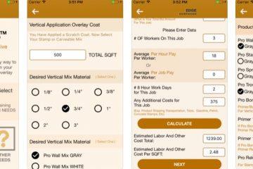 Job Estimator App