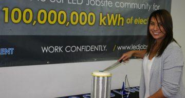 Lind LED Jobsite Million Kilowatt savings